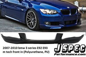 BMW E92 mtech front lip  and euro style grill n side skirt