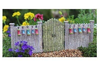 Garden Gate Planter (Miniature Dollhouse FAIRY GARDEN - Planter Gate -)