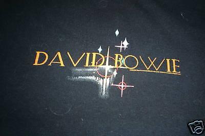 DAVID BOWIE LADIES CONCERT SHIRT NICE CLEAN APPAREL