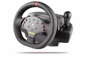Logitech MOMO Racing Wheel and Pedals. Eden Hill Bassendean Area Preview