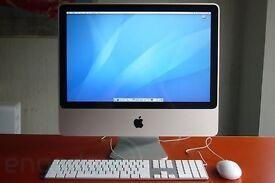 """iMac 20"""" 2.4ghz Core 2 Duo 4Gb RAM 320gb hard drive Latest OS"""