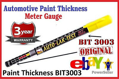 Paint Thickness Meter Gauge Bit 3003 Crash-test Check