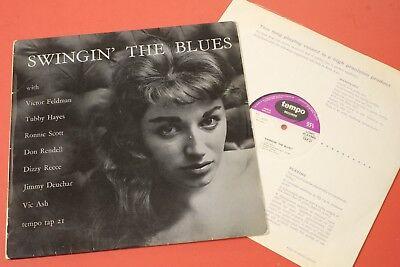 TAP 21 Swingin' The Blues Modern British Jazz Tubby Hayes Don Rendell 1957