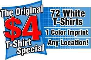 Custom T-Shirts as low as $4.00*