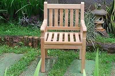 Premium Grade A Teak Windsor Dining/Garden Armchair,31 lbs, LIST $650 SALE