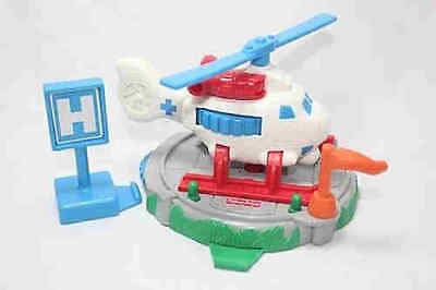 GeoTrax Whirly Bird Rescue Helicopter Complete Set B4347