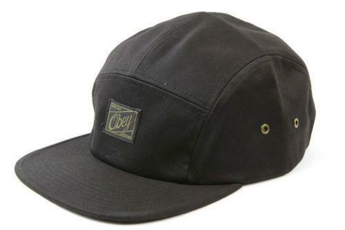 4886ef83d7a Obey 5 Panel  Hats