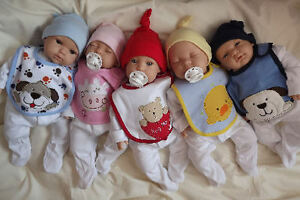 Babies-in-bibs-Newborn-Lifelike-Reborn-Baby-Doll-Girl-Boy-Birthday-xmas-gift
