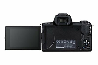 Canon Eos M50 Kompakte Systemkamera -