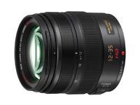 Panasonic GH3 Camera with 12-35mm pro lens kit
