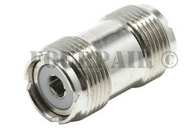 Uhf So 239 Female To Female Coupler Rf Adapter Barrel Connector For Pl 259 Plugs