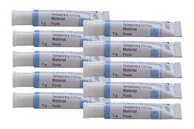 Cavit White 3M Espe 10 Tube X 7 Gr Each  Dental Temporary Filling Material