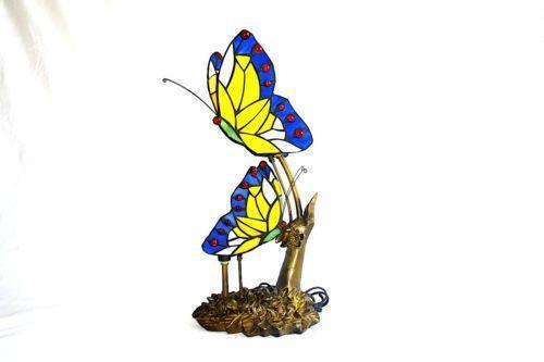 Tiffany Butterfly Lamp Ebay