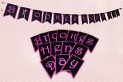 Hen Party Bunting