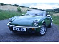 Triumph Spitfire 1500 Overdrive in Brooklands Green