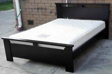 solid timber frame double bed with mattress Glen Waverley Monash Area Preview
