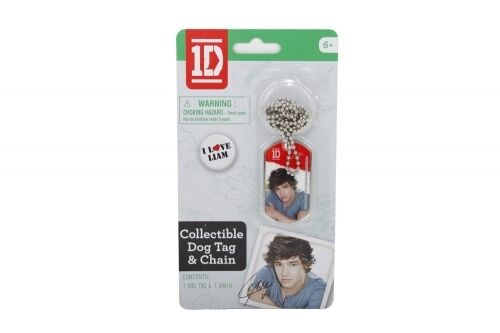 One Direction 1D Liam Dog Tag Chain Necklace Unisex Accessories