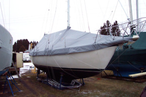 Winter Sailboat cover.