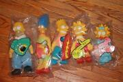Burger King Simpson Dolls