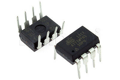 50PCS ATTINY85-20PU IC ATTINY85 MCU 8BIT 8KB FLASH 8DIP IC