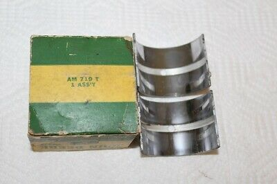 New Old Stock Genuine John Deere Am719t Front Main Bearing .003 Oversize
