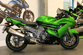 3 Miles!!! Kawasaki ZZR 1400 Performance sport.