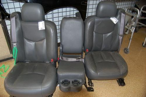 used leather truck seats ebay. Black Bedroom Furniture Sets. Home Design Ideas