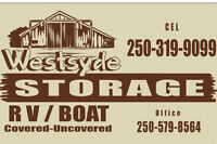 Westsyde RV/Boat Storage ------------Best Rates In Town!!!!!