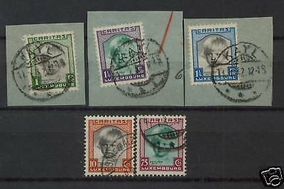 Luxembourg 1931 SG#302-6 Child Welfare Used Set Cat£139