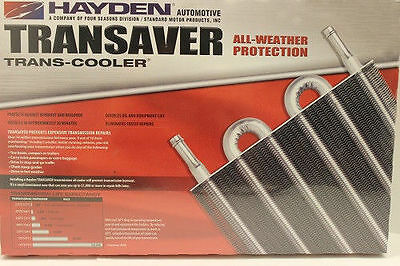 Hayden Transmission Cooler  With Complete Installation Kit 26000 GVW OC 1405