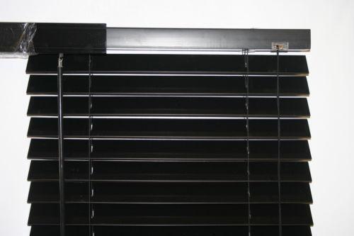 Black Window Blinds Ebay