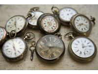 WANTED ALL ANTIQUES. CLOCKS, WATCHES, PAINTINGS, SILVER, MILITARY MEDALS, COINS, ALL GOLD JEWELLERY