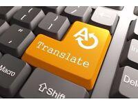 Translation Work Needed: English to Polish / Polish to English