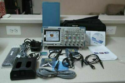 Tektronix Tps2024b 200 Mhz 4-ch 2 Gss Digital Storage Oscilloscope