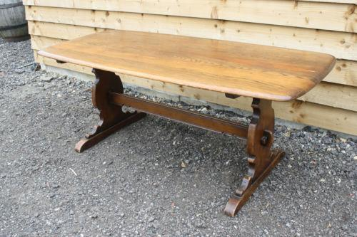 ercol elm dining table ebay