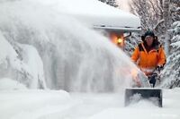 Snow Blowing - Salt and/or Sand - 962-4321