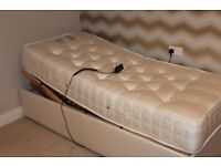 electric adjustable single bed