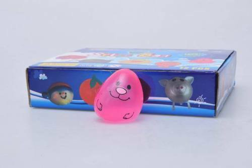 641b5ea3a Squeeze Anti Stress Egg Theme Rubber Ball Toy Relieve Therapy Relax Play  Game