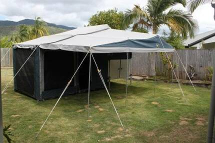 Custom built Trail Busta slide on, lift off camper. Trinity Beach Cairns City Preview