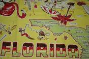 Souvenir Florida Tablecloth