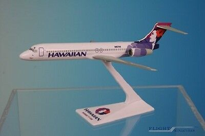 Flight Miniatures Hawaiian Airlines Boeing 717 200 1 200 Scale Model With Stand