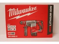 Milwaukee HD18HX-0 Rotary Hammer Drill (Body Only)