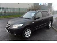 HYUNDAI SANTA FE CDX DIESEL 5 DOOR AUTO LEATHER PRIVACY GLASS £49 PER WEEK