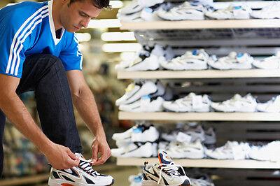 Wer Laufschuhe in der Größe seiner Alltags-Sneaker kauft, wird das schnell spüren. (© Thinkstock über The Digitale)