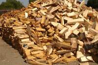 Well dried mixed hardwood Delivery included!
