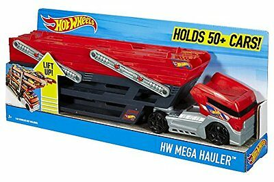 Mattel Kinderspiele Hot Wheels Edition Mega Fahrzeug-Transporter SPielzeug NEU