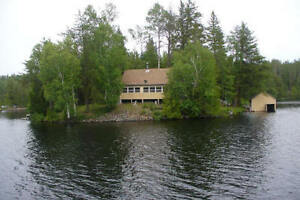 Island & Cottage, Duncan Lake, Gowganda