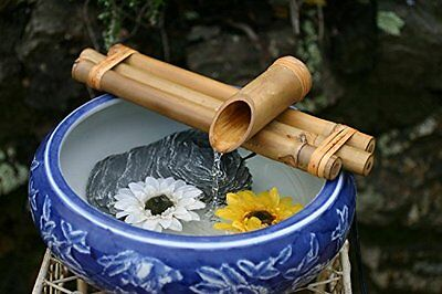 Bamboo Water Spout and Pump 12