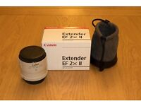 Canon EF 2x II Extender for sale