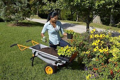 WORX WG050 Aerocart 8-in-1 2-Wheel Wheelbarrow/Garden Cart/Dolly